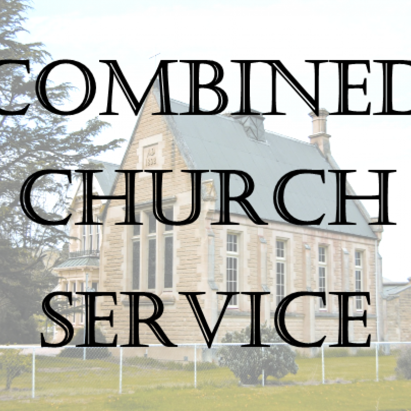 Combined Church Services image